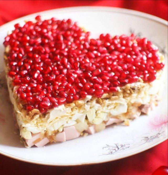 модель рецепты салатов с фото в виде сердца хотите заморачиваться
